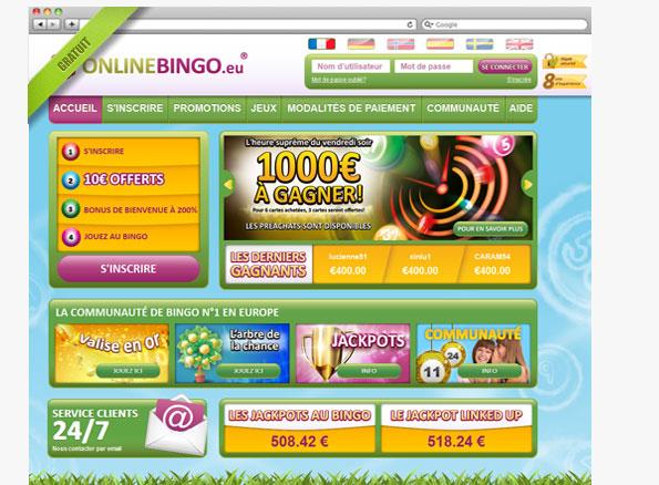 Site bingo